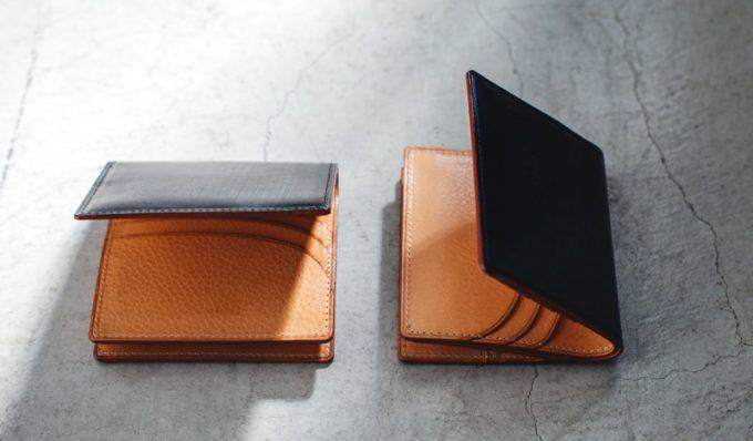THIN BRIDLE(シンブライドル)BOX小銭入れ付きコンパクト札入れ