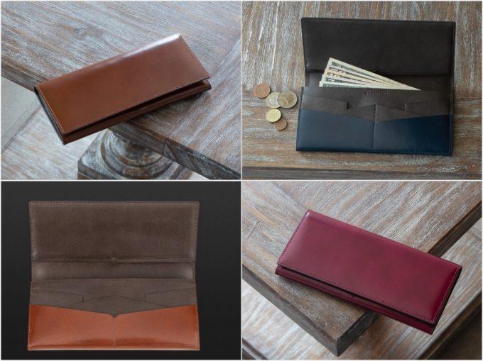 アーキライン長財布艶あり(HIRAMEKI)の各種財布