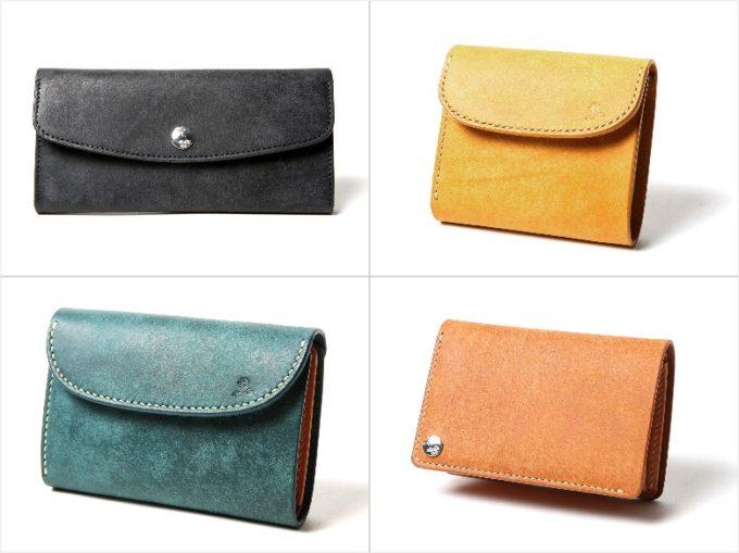 R(マットバケッタレザー)シリーズの各種財布