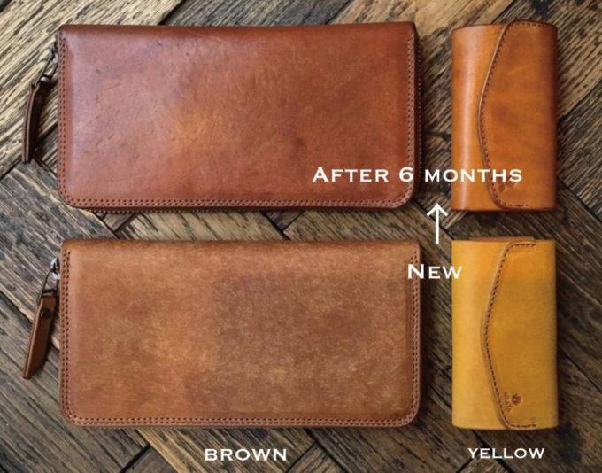 経年変化して味わい深く更にクラシカルになる革財布