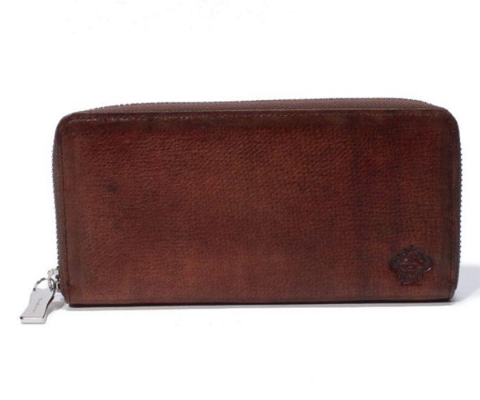 パティナシリーズのラウンドファスナー長財布