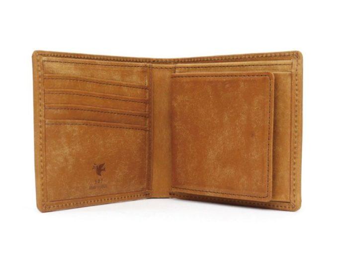 sot・プエブロレザー二つ折り財布(ギャルソン小銭入れ付き)