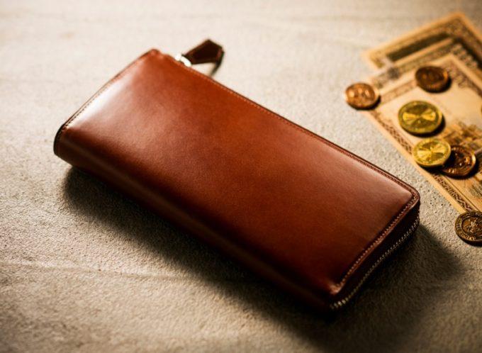 プルキャラックシリーズのギャリオット(L字ファスナー長財布)