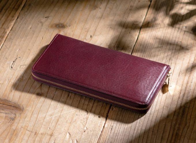 トラモントシリーズのエレガンテ(ラウンドファスナー長財布)