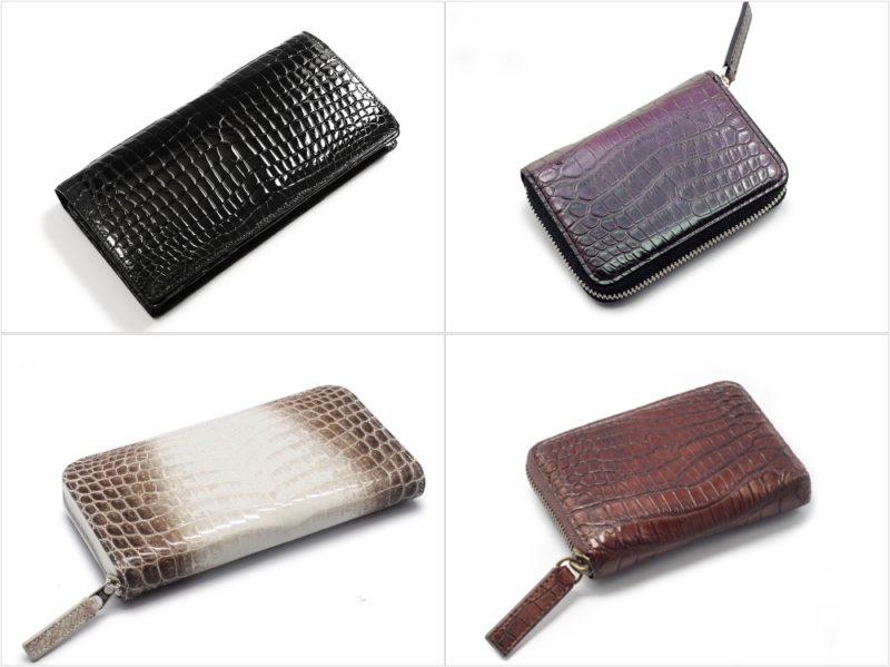 東京クロコダイルの各種財布