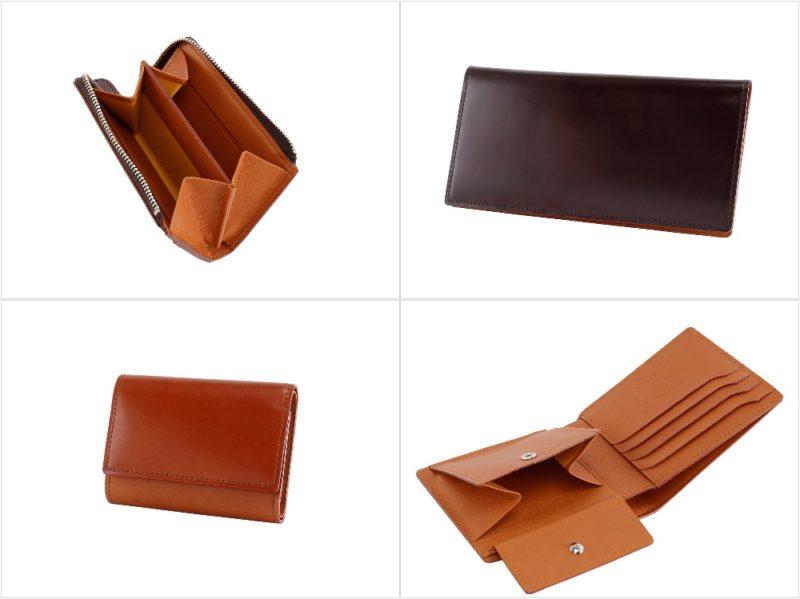 CORDOVAN AUTHENTIC (コードバン オーセンティック)シリーズの各種財布
