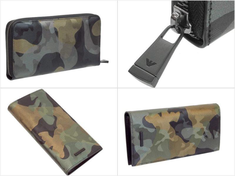 EMPORIO ARMANI(エンポリオアルマーニ)・迷彩財布の各種財布