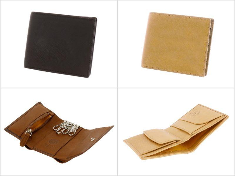 ベビーカーフシリーズ(微細シボ模様)の各種財布