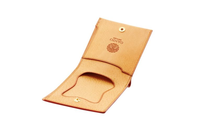ミネルバナチュラル・コンパクト二つ折り財布(GANZO)