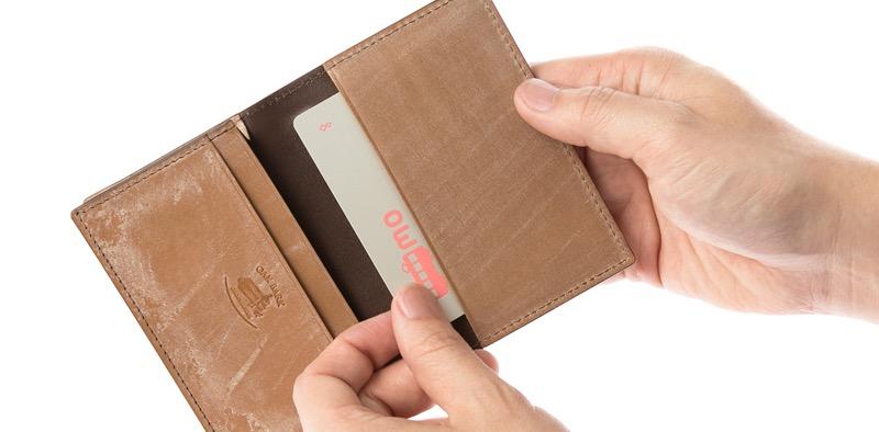 パスケースや名刺入れも財布として使える?