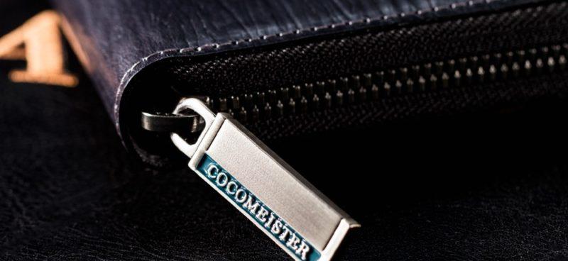 ゴーストタウンシリーズの財布のファスナートップ