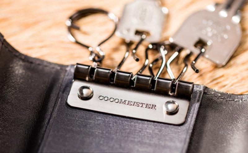 ココマイスターのゴーストタウンのキーケース