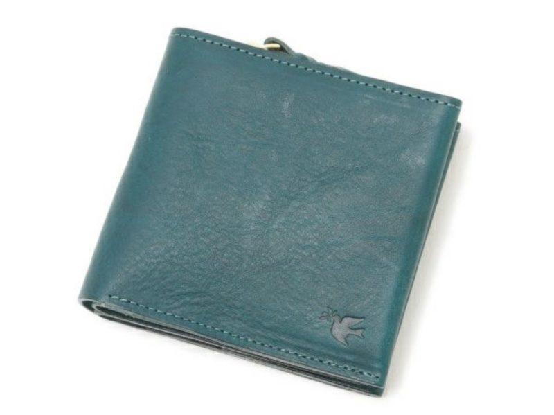 sot・ミネルバボックスレザーシリーズの財布(ブルー)