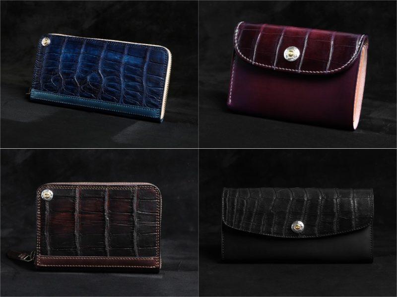 MOTO(モト)ハンドダイクロコ×ハンドダイコードバンシリーズの各種財布