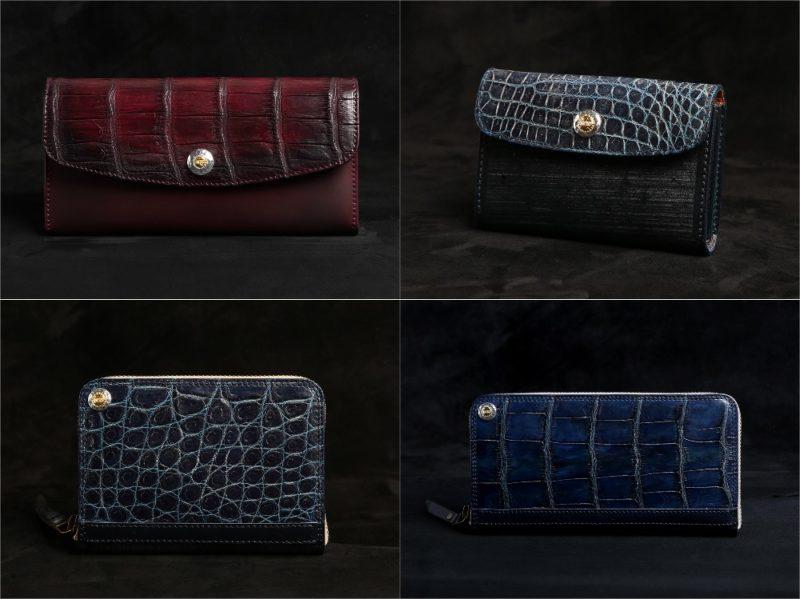 MOTO(モト)ブライドルクロコ×ブライドルレザーシリーズの各種財布