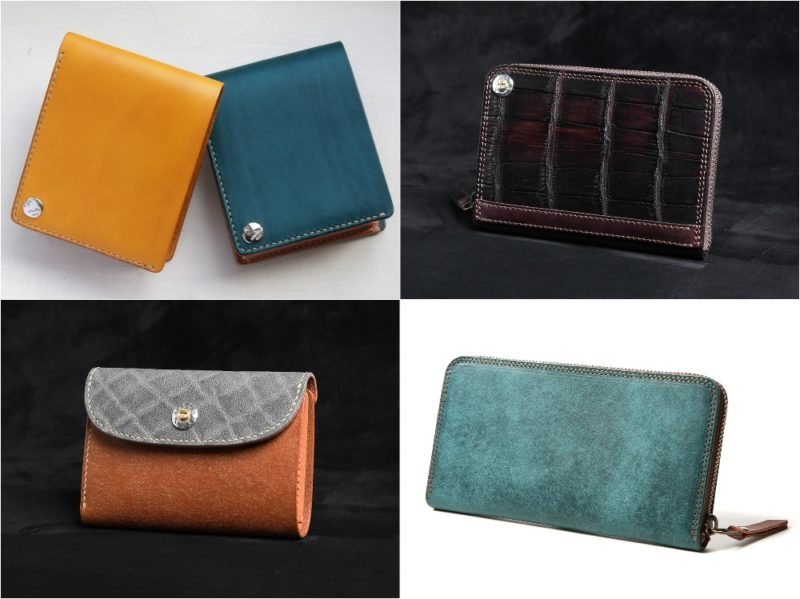 MOTO(モト)の各種革財布