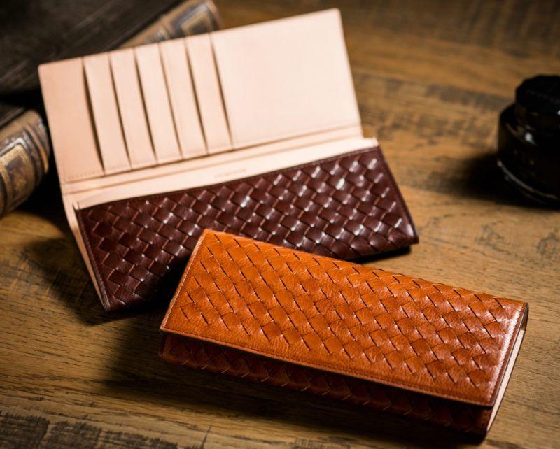 COCOMEISTER(ココマイスター)・編み込み財布
