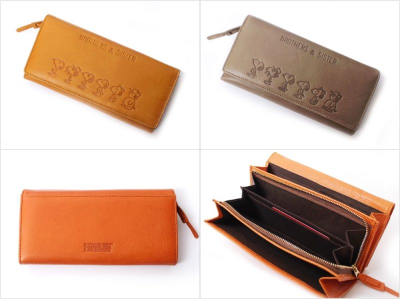 BROTHERS&SISTARカブセ長財布の各カラーと内装ポケット