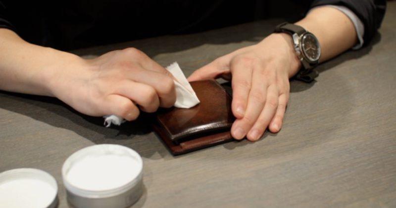 yuhakuの財布のお手入れ方法(メンテナンス)