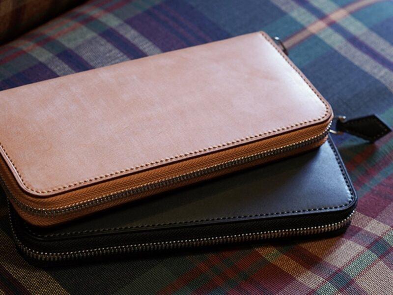 フランス製サドルレザー財布(ベーシックスシリーズ)