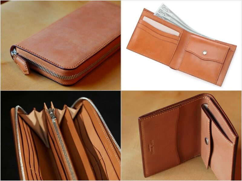 フランス製サドルレザー財布(ベーシックスシリーズ)の各種財布