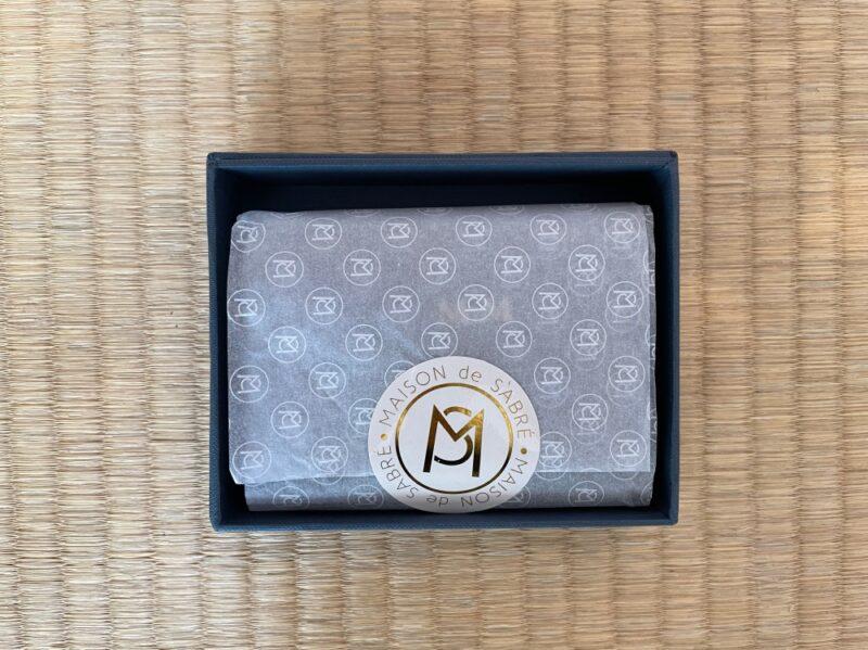 実際に届いたメゾンドサブレ財布