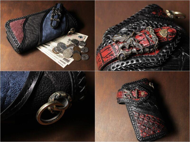 シックスセンス・バイカーズウォレットシリーズの各種財布