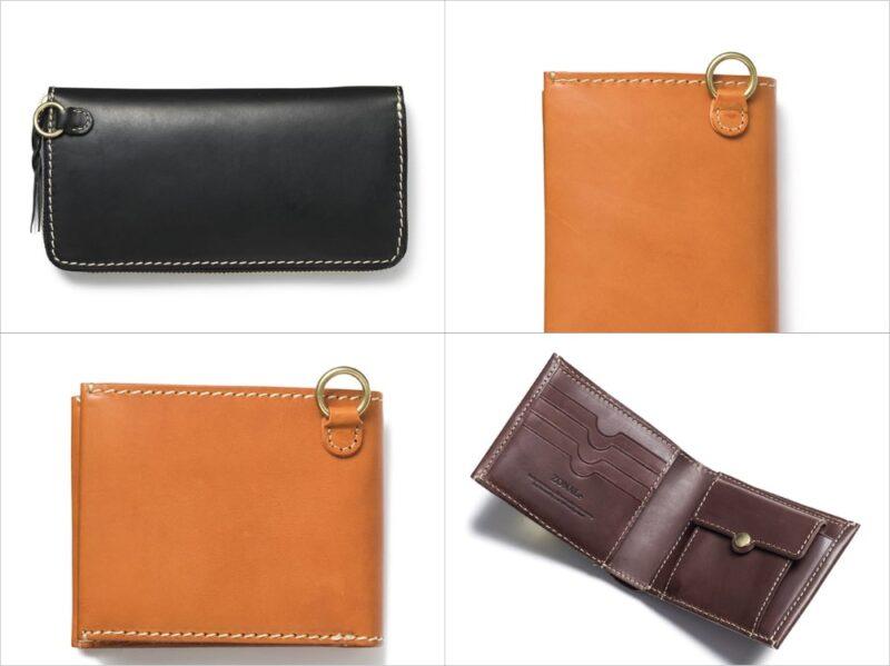 ゾナール・テラロッサシリーズの各種財布