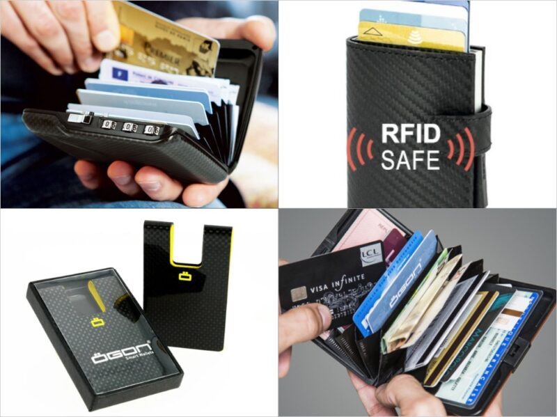 OGON DESIGNS(オゴン・デザインズ)・スキミング防止機能付きアルミニウム素材の各種財布