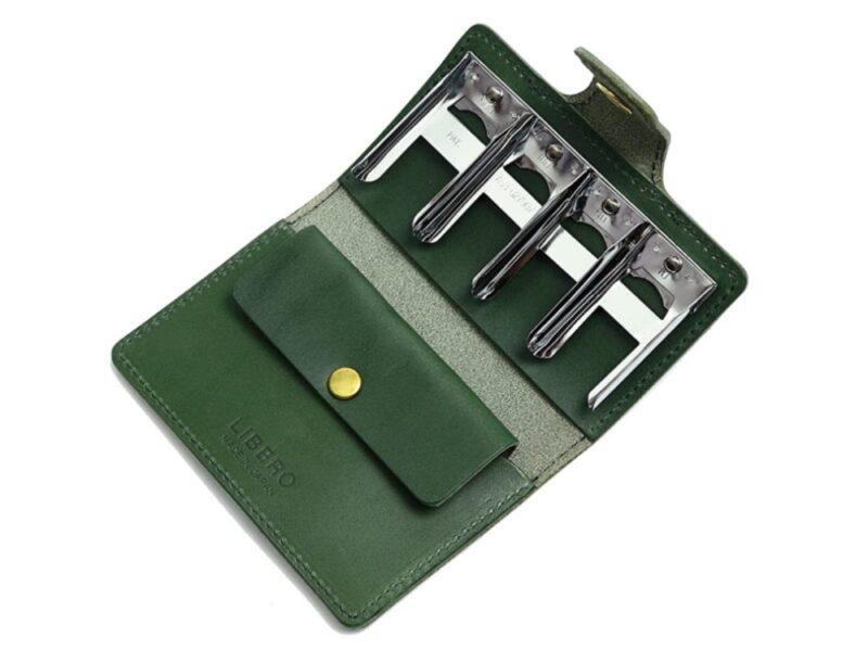 LIBERO(リベロ)・栃木レザーコインキャッチャー付きコインケース