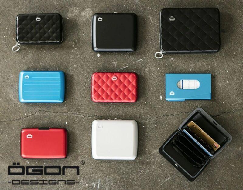 OGON DESIGNS(オゴン・デザインズ)・スキミング防止機能付きアルミニウム素材財布