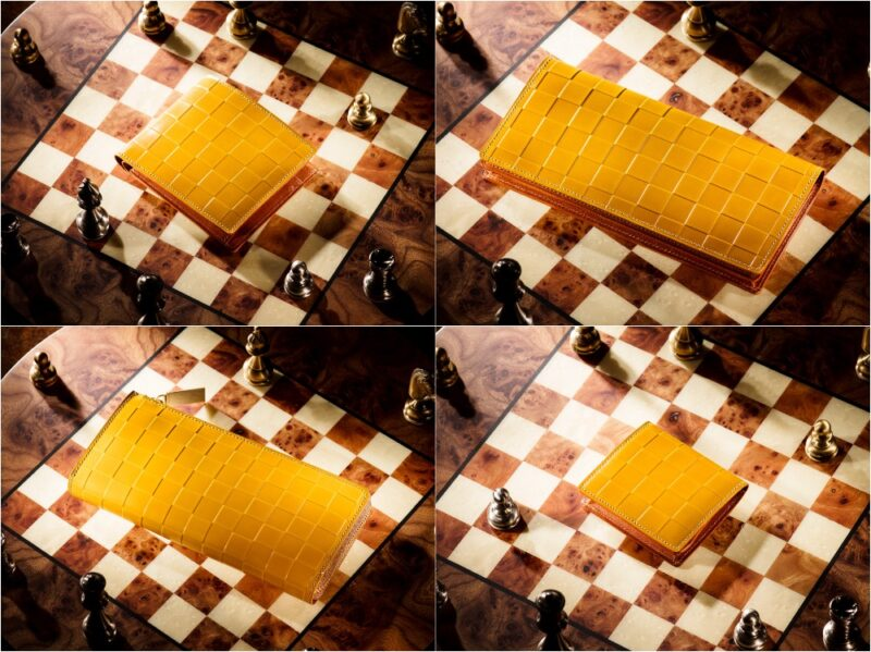 ココマイスター・チェスボードコレクション(インドラ)の各種財布