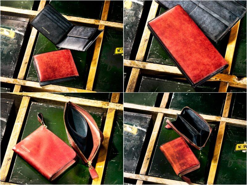 COCOMEISTER・ゴールドマイニングシリーズの各種財布(レッドアース)