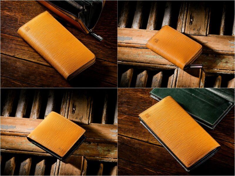 ココマイスター・ジョリーロジャーコレクション(ヴィクトリーイエロー)の各種財布