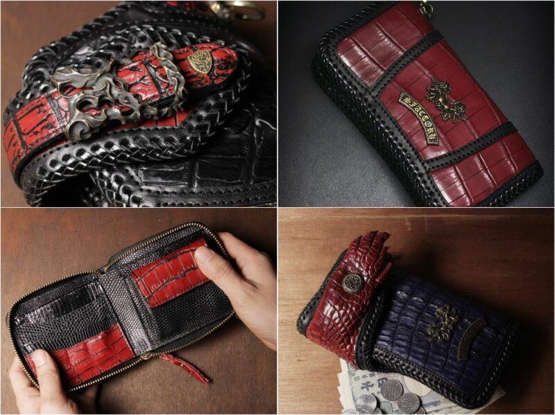 SIX THSENSE(シックスセンス)クロコダイルシリーズの各種財布