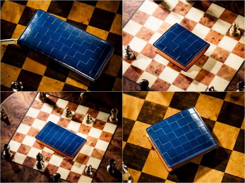 ココマイスター・チェスボードコレクション(ルドラ)の各種財布