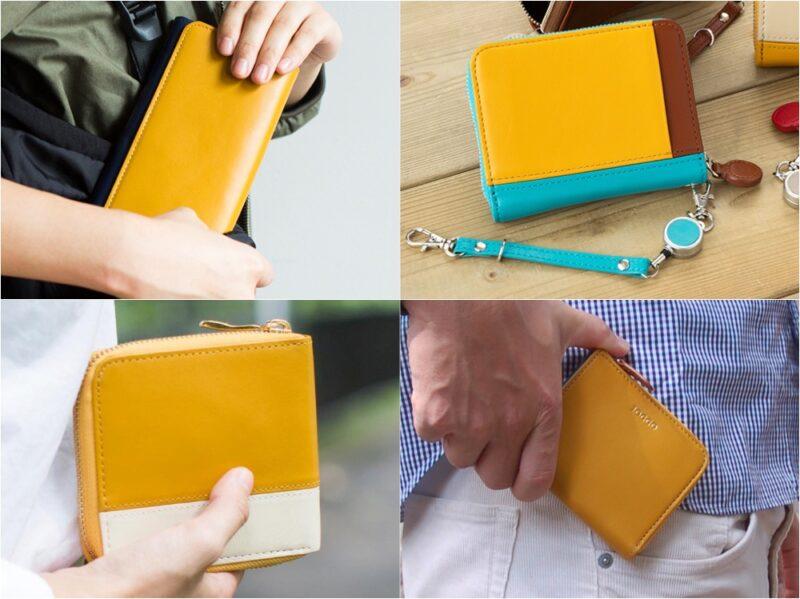 ジョッゴ・スマホ&パソコンで作るオーダーメイドの各種財布(マスタードイエロー)