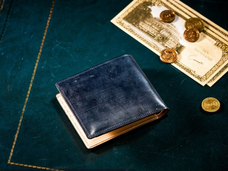 COCOMEISTER・二つ折り財布(札入れ内カードポケット付き)