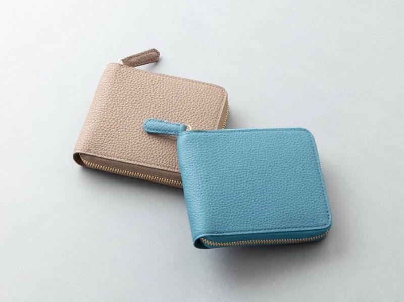 チマブエ・シュランケンカーフ(ブルー)の財布