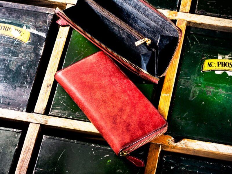 COCOMEISTER・ゴールドマイニングシリーズの財布(レッドアース)