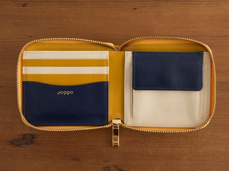 ジョッゴ・スマホ&パソコンで作るオーダーメイド財布(マスタードイエロー)