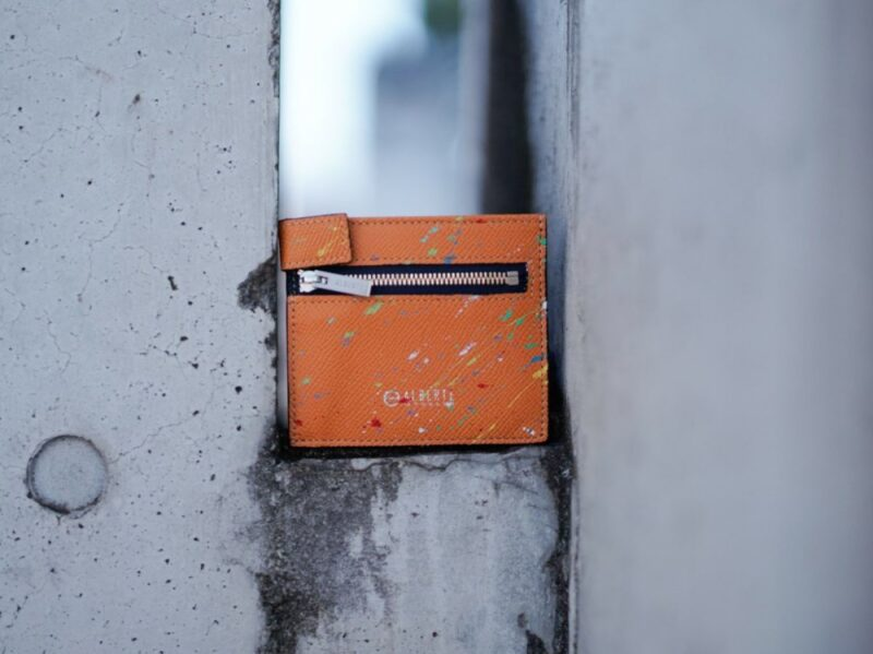 コンパクト二つ折り財布(yuhaku)