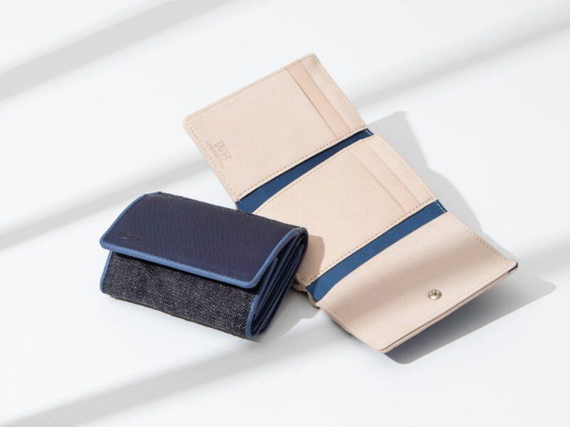 ブルーストーン・SUKUMOLeather(藍色)の財布