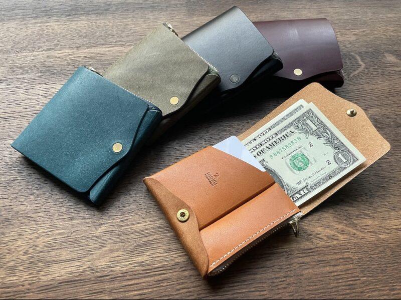 小さく薄い財布SAKU(Moku)