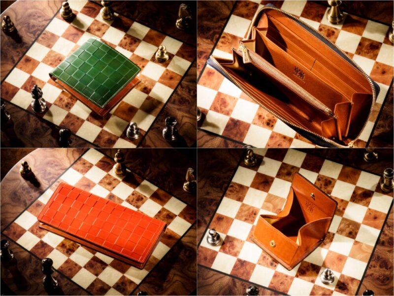 チェスボードコレクションシリーズの各種財布