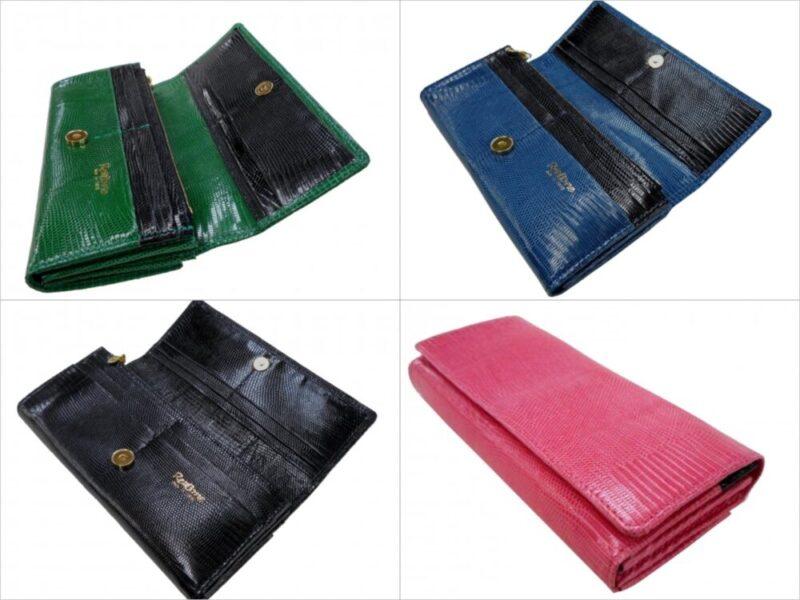 リボーン・レディースタイプオールリザードシリーズの各種財布