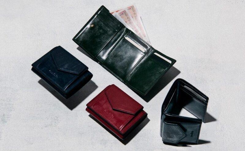 英国製ブライドルレザー三つ折り財布(クラフスト)