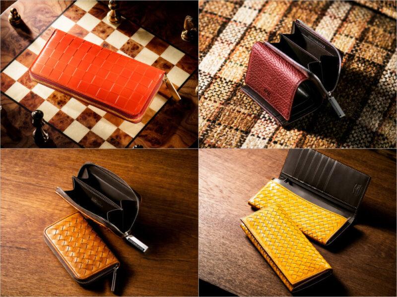 ココマイスターの各種革財布